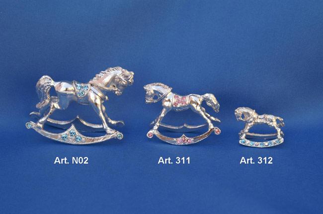 Cavallo A Dondolo Swarovski.Venta Barata Del Reino Unido Variedades Anchas Gran Venta Cavallo