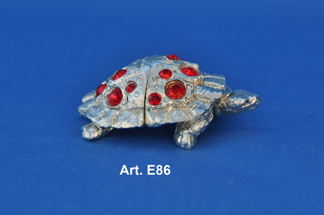 Prodotto: Calamita tartaruga nuova segnaposto con Swarovski