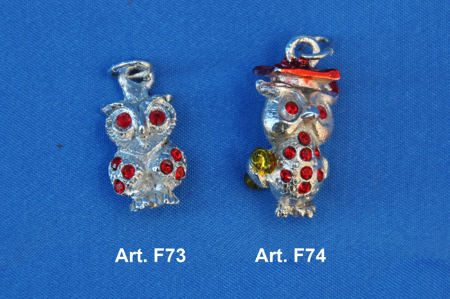 Owls pendants